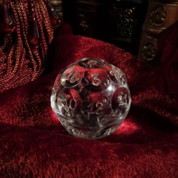 Czech Crystal 32 Sided Fortune Telling Ball 29 grams